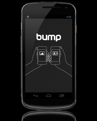 Bump — технологія передачі файлів ударом
